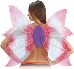 Ailes de Papillon Fil Argent
