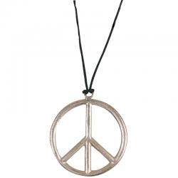 Collier hippie plastique