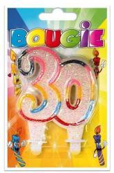 Bougie anniversaire 30 ans pas cher