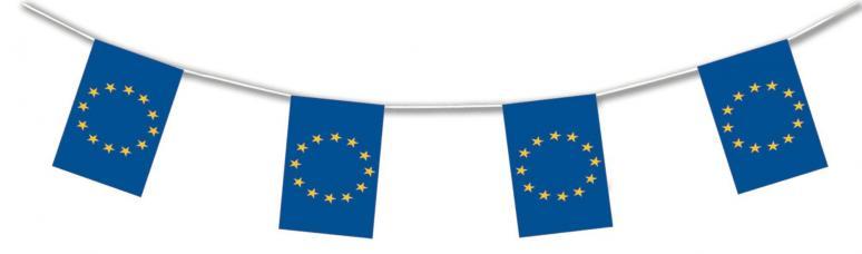 guirlande drapeau europe