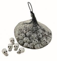 Panier tête de mort pour bonbons pas cher