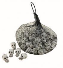 paniers bonbons tete de mort halloween