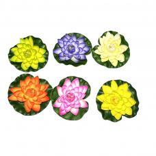 fleur de lotus flottante