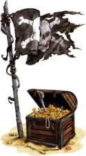 decoration tresor de pirate