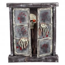 fenetre squelette lumiere lampe