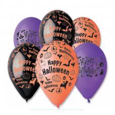 sachet de 6 ballons halloween