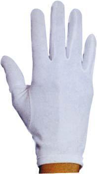 Gants de cérémonie polyester blancs pour enfants