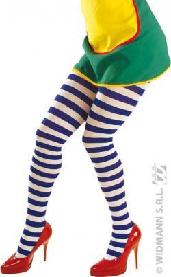Collant Clown Bleu Adulte