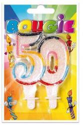 Bougie anniversaire 50 ans pas cher