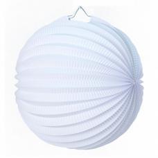 lampion rond blanc