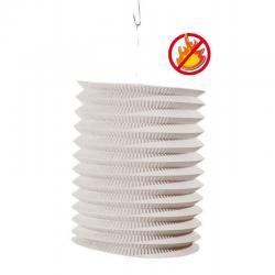 Lampion cylindirque blanc ignifugé pas cher