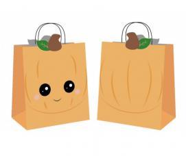 sacs chasse aux bonbons