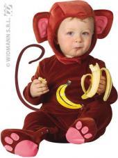 deguisement bebe singe
