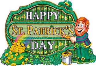 decoration happy saint patrick's day