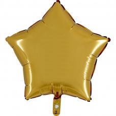 ballon etoile or aluminium