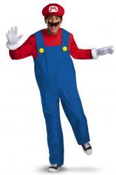 Déguisement Mario Deluxe adulte pas cher