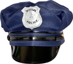 Casquette Police Américaine Bleue