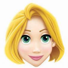 masque princesse raiponce