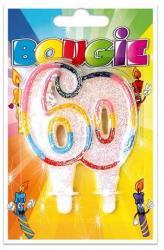 Bougie anniversaire 60 ans pas cher