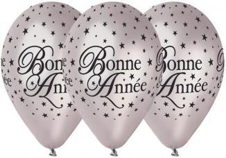 Ballons Bonne Année Argent
