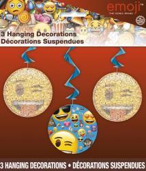 Décorations suspendus Emoji Smiley pas cher