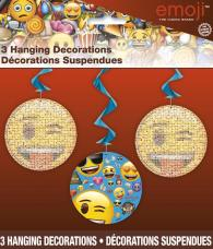 decorations suspendus emoji smiley