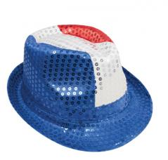 chapeau borsalino tricolore