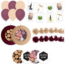 kit decorations fete du vin