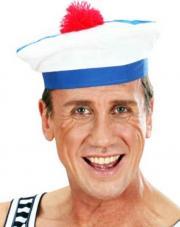 chapeau marin en tissu