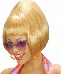 Perruque blonde années 60 pas cher