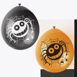 6 ballons halloween pas cher