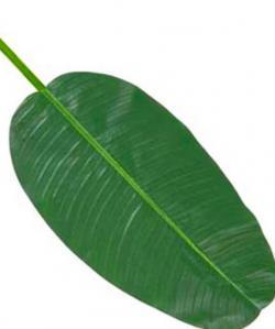 D coration feuille de bananier artificielle for Bananier artificiel pas cher