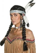 Déguisements Perruque Indienne Femme Authentic