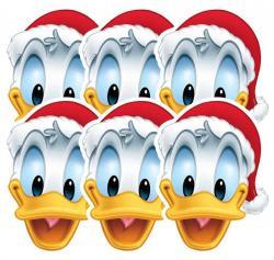 6 Masques Donald pour Noël pas cher