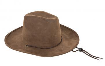 chapeau western imitation daim
