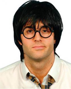 Perruque écolier avec lunettes