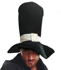 maxi chapeau feutrine noir