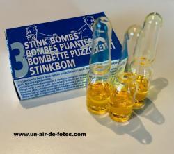 boules puantes pas cher capsule de verre