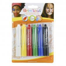 6 crayons à maquillage grim'tout