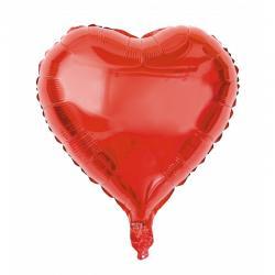 ballon coeur rouge mylar pas cher