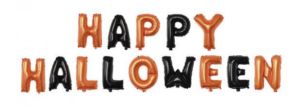 ballons happy halloween alu