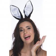 oreilles de lapin noires