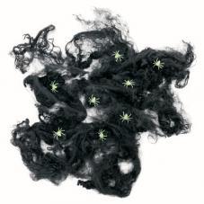 toile d'araignée noir halloween