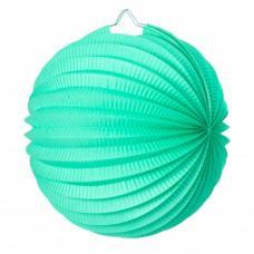 lampion rond vert celadon