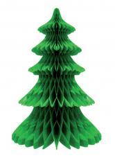 decoration sapin de noel vert en papier