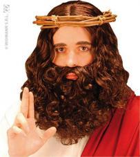 perruque prophete brune