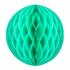 boule papier alveolee vert celadon