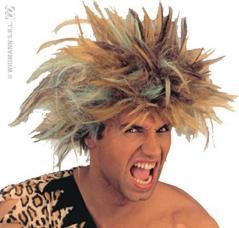 perruque prehistorique pour homme