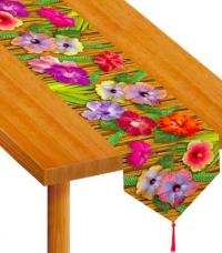chemin de table hawaien