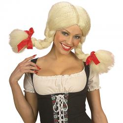 Perruque Heidi Adulte pas cher